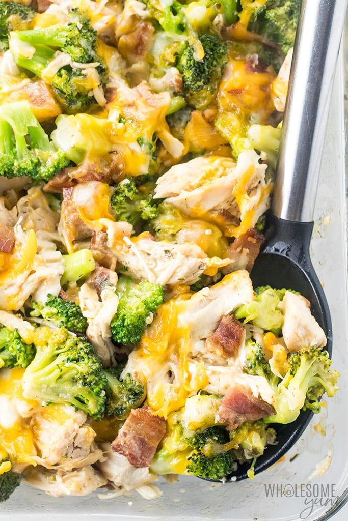 Low Carb Chicken Bacon Ranch Casserole  Chicken Bacon Ranch Casserole Recipe Quick & Easy 2 Ways