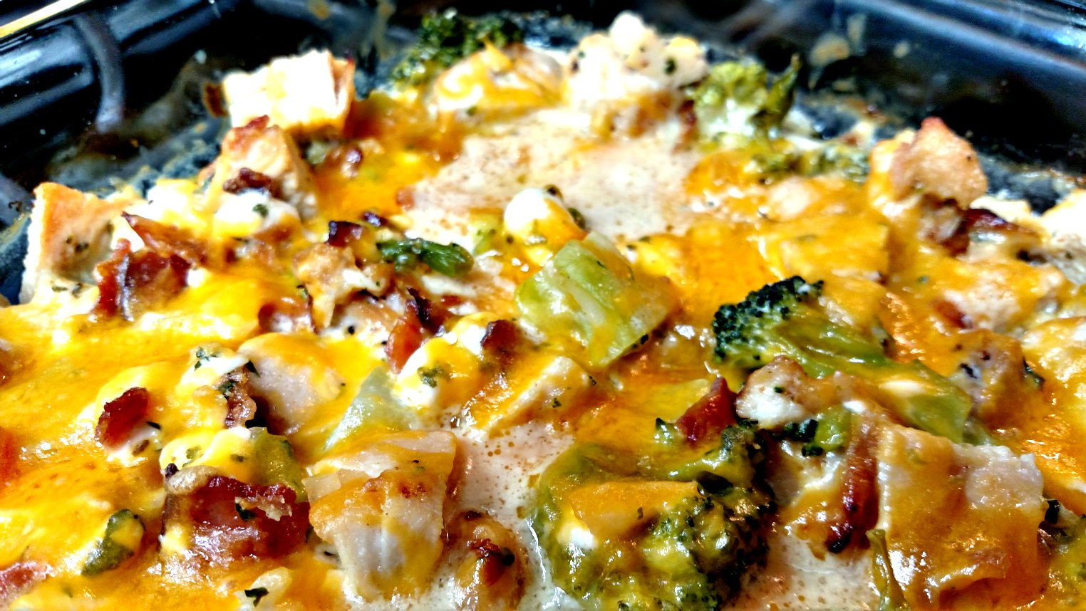 Low Carb Chicken Bacon Ranch Casserole  Low Carb Bacon Ranch Chicken Casserole