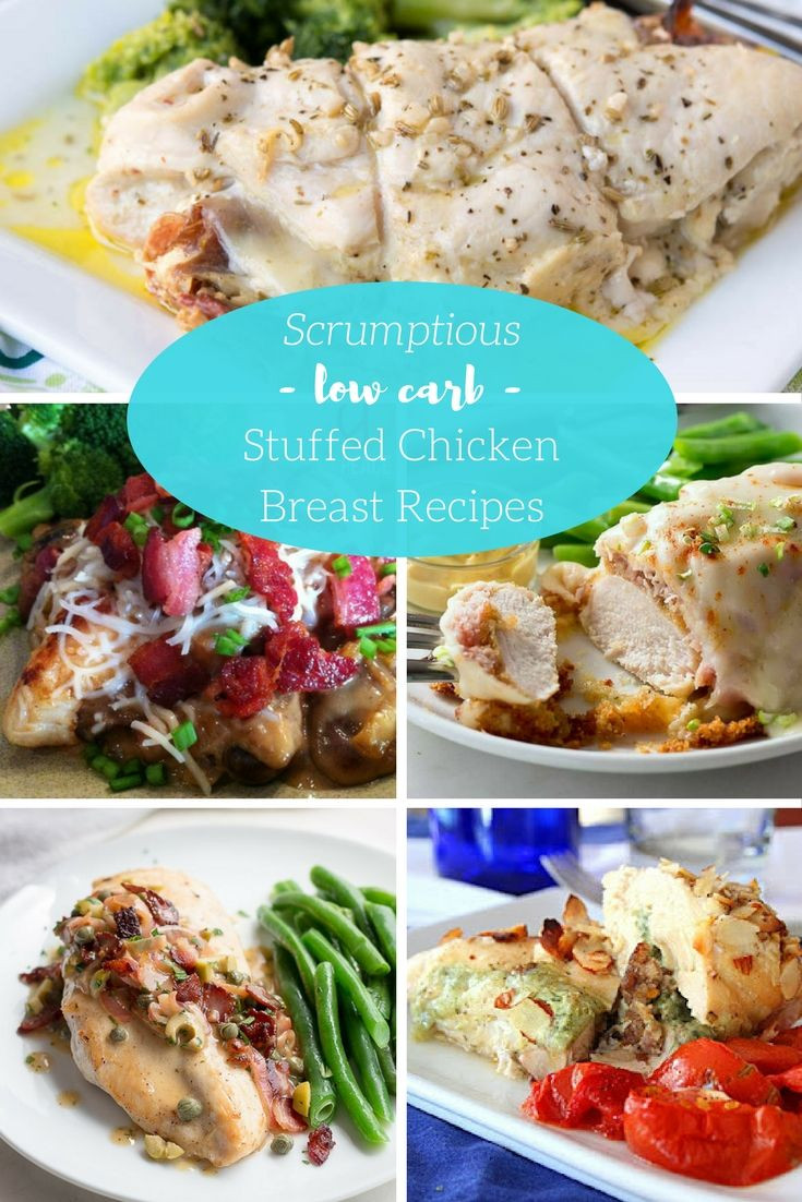 Low Carb Chicken Breast Recipes  668 best images about THM on Pinterest