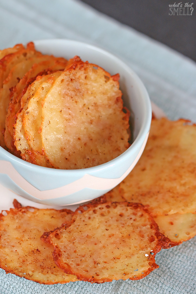 Low Carb Chips And Crackers  Low Carb Cheese Crisps Easy and Delicious Keto Snack
