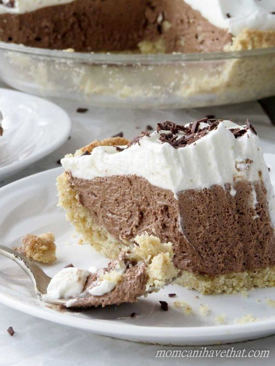 Low Carb Chocolate Dessert Recipes  Low Carb French Silk Pie is 4 net carbs per serving