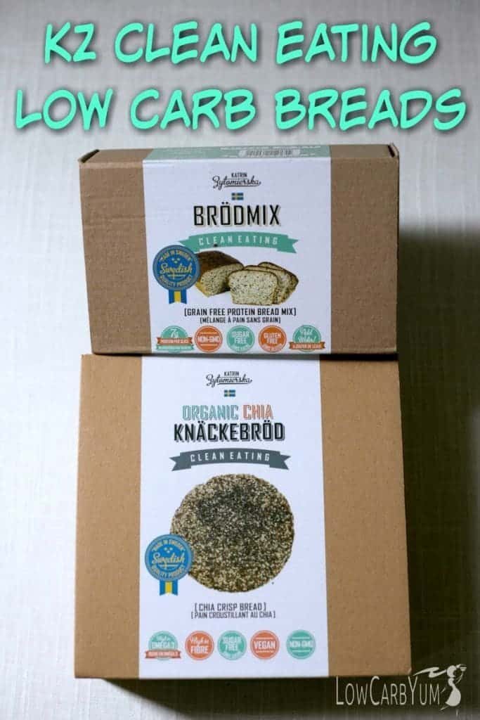 Low Carb Clean Eating  KZ Clean Eating Low Carb Breads Review