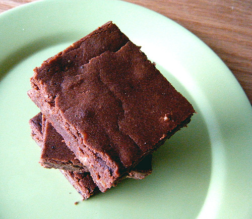 Low Carb Cocoa Powder  Coconut Flour Brownies revisited–Gluten free and