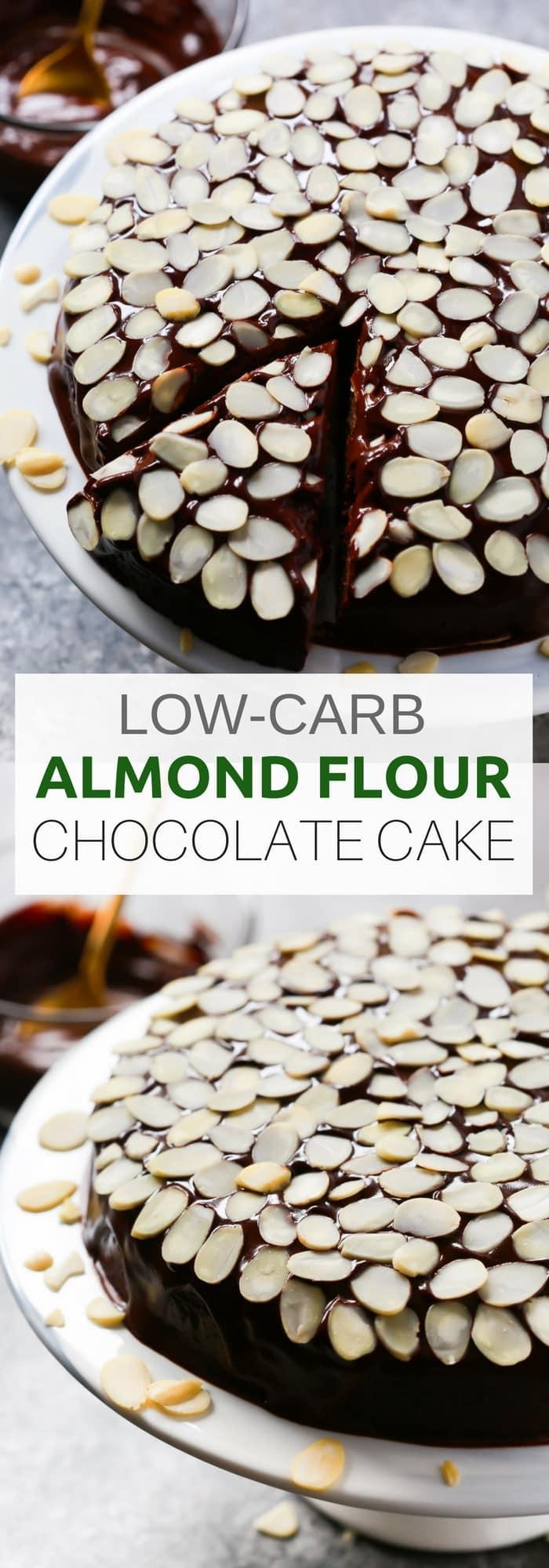 Low Carb Cocoa Powder  Low carb Almond Flour Chocolate Cake Primavera Kitchen