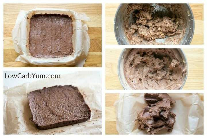 Low Carb Cocoa Powder  Peanut Flour Brownies with Fudge Like Texture