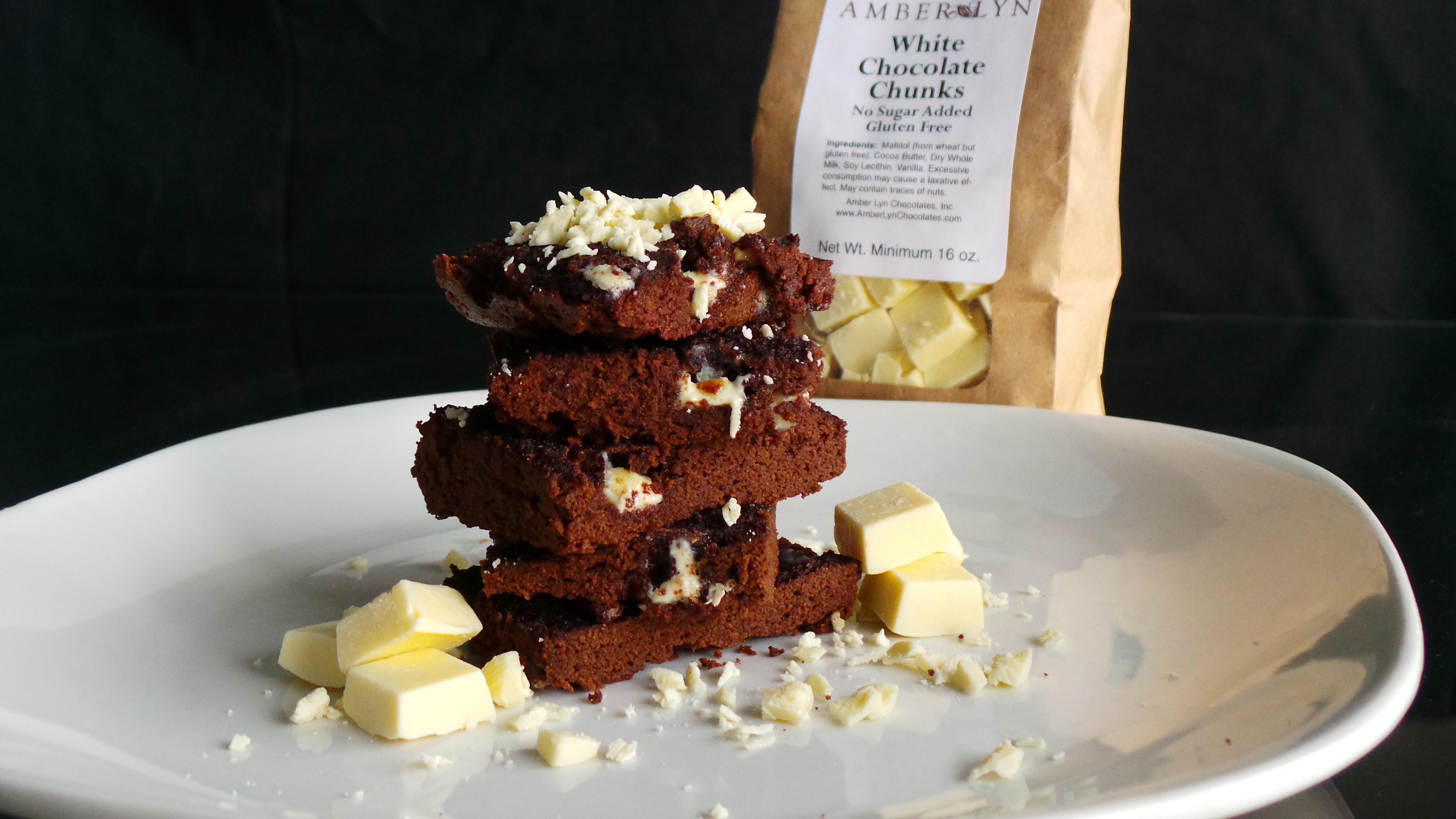 Low Carb Coconut Flour Brownies  Low carb brownies with coconut flour healthy fruit