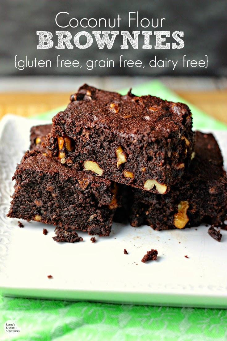 Low Carb Coconut Flour Brownies  Coconut Flour Brownies