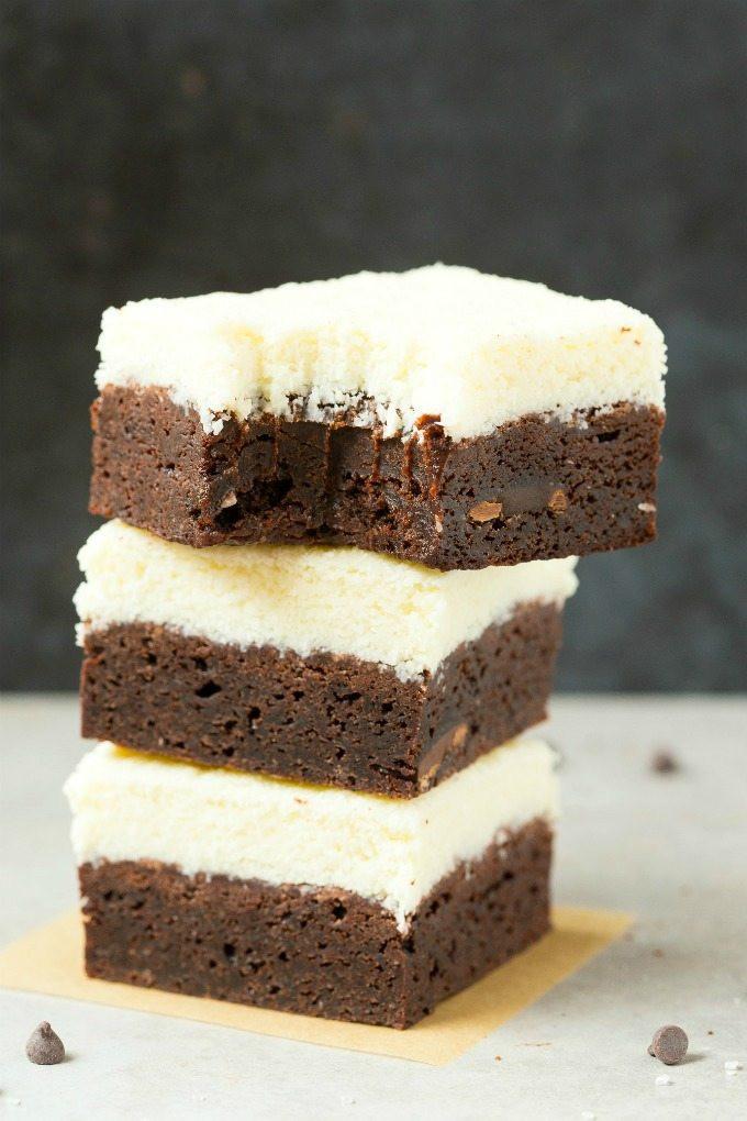 Low Carb Coconut Flour Brownies  Healthy Vegan Coconut Brownies Paleo Keto Low Carb