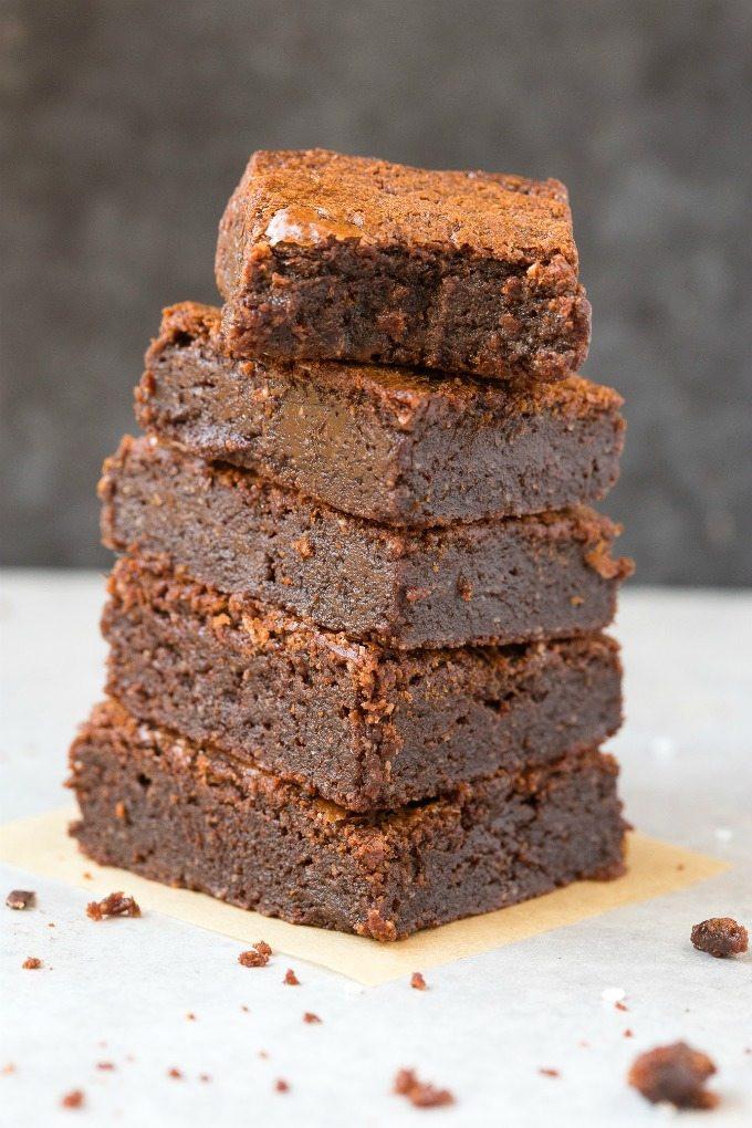 Low Carb Coconut Flour Brownies  Fudgy Keto Low Carb Brownies Paleo Vegan Sugar Free
