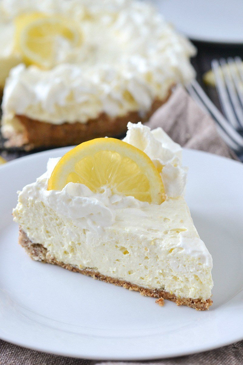 Low Carb Cool Whip Desserts  Low Carb Lemon Cheesecake