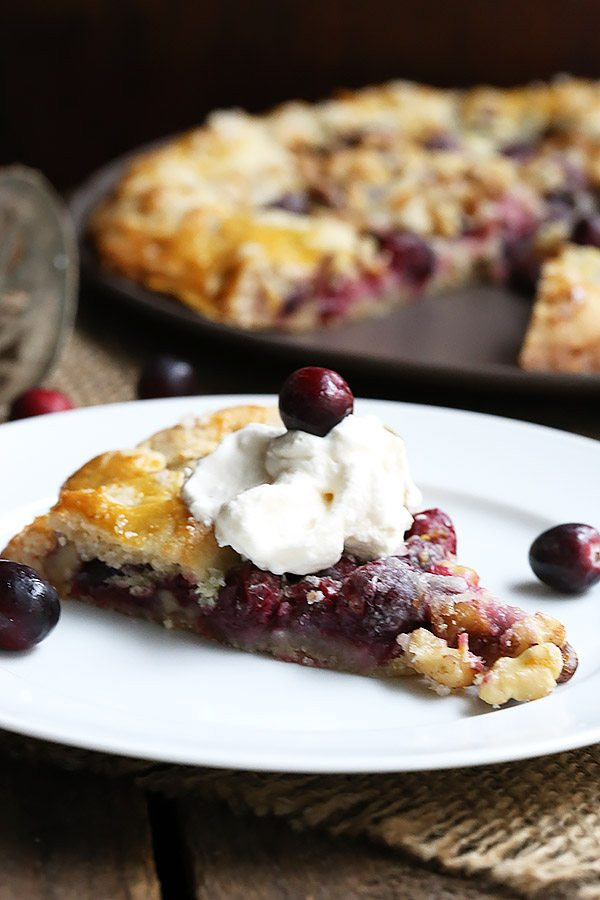 Low Carb Cool Whip Desserts  Low Carb Grain Free Cranberry Walnut Galette