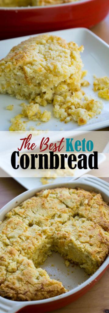 Low Carb Corn Bread  Low Carb Cornbread