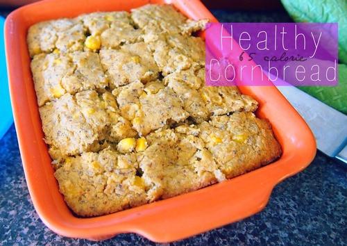 Low Carb Corn Bread  Healthy 65 Calorie Low Carb Cornbread – Simply Taralynn
