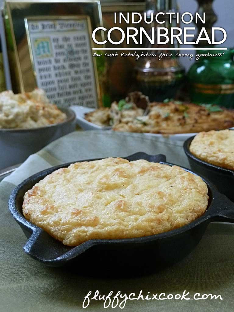Low Carb Corn Bread  Low Carb Keto Induction Cornbread