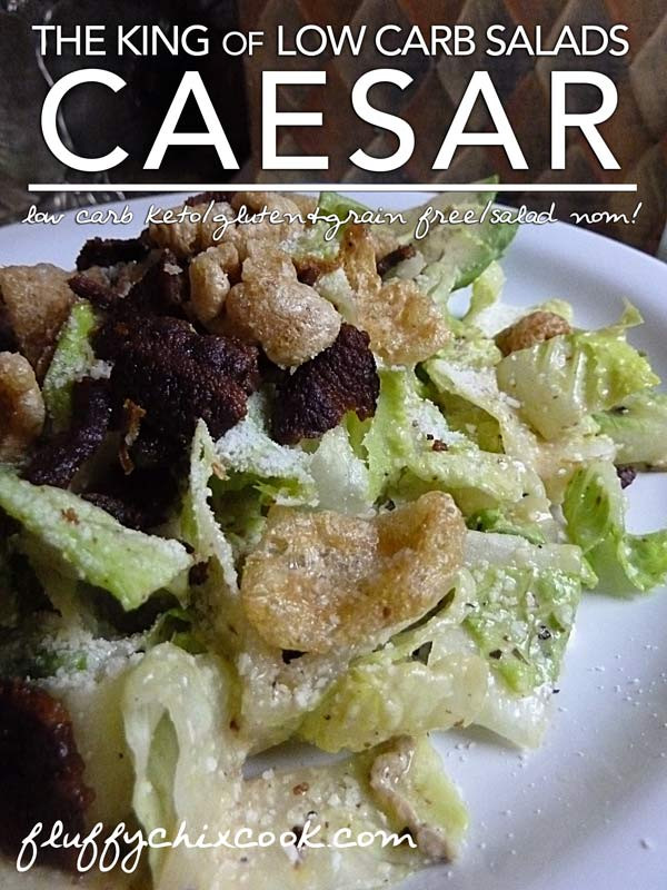 Low Carb Croutons  how many carbs in a caesar salad with croutons