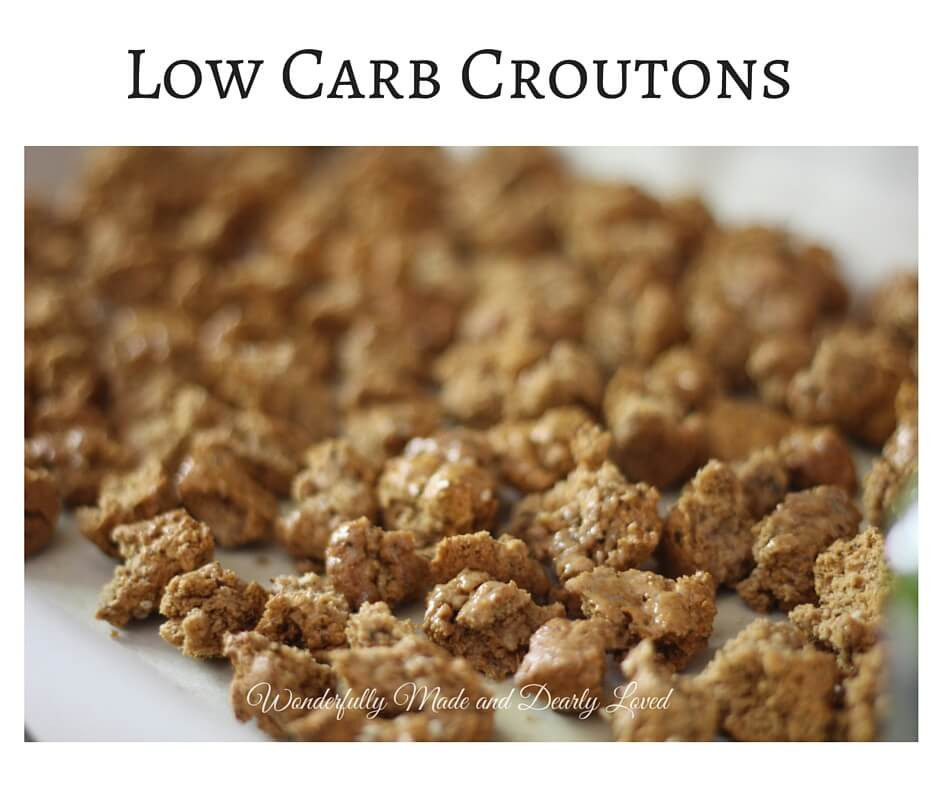Low Carb Croutons  Low Carb Croutons