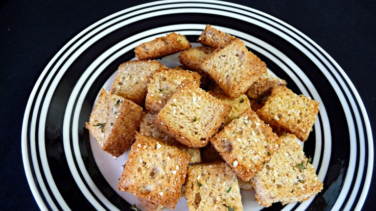 Low Carb Croutons  Croutons Low Carb Sensations keto t lowcarbs lchf
