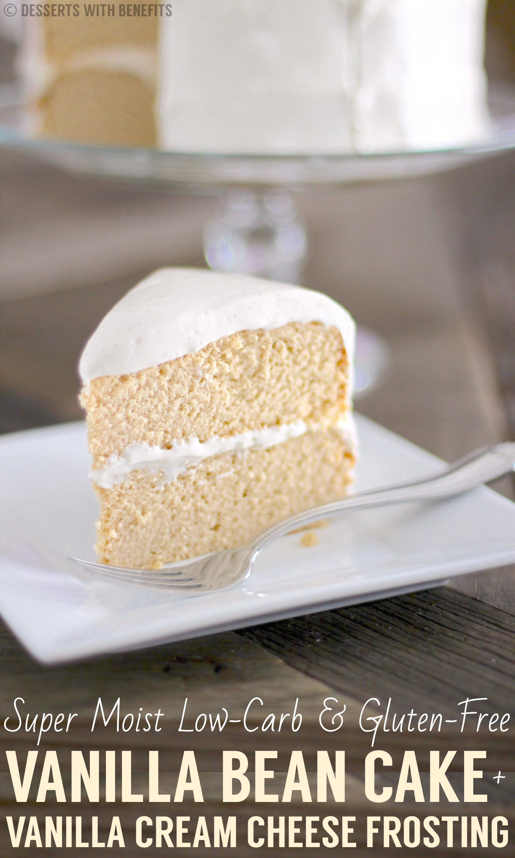 Low Carb Dairy Free Desserts  The lightest fluffiest Gluten Free Vanilla Cake Recipe