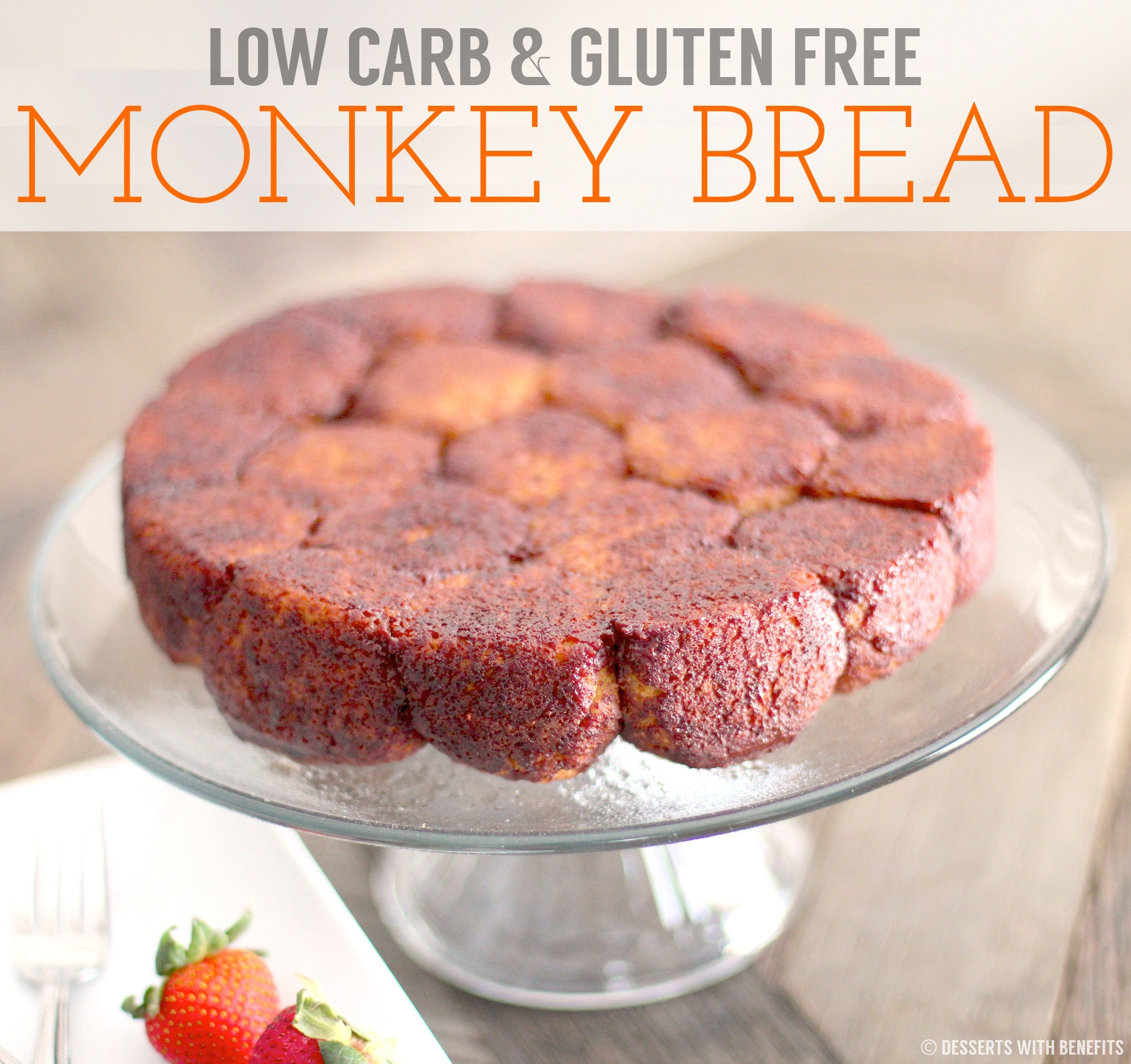 Low Carb Dairy Free Desserts  Healthy Gluten Free Monkey Bread Recipe
