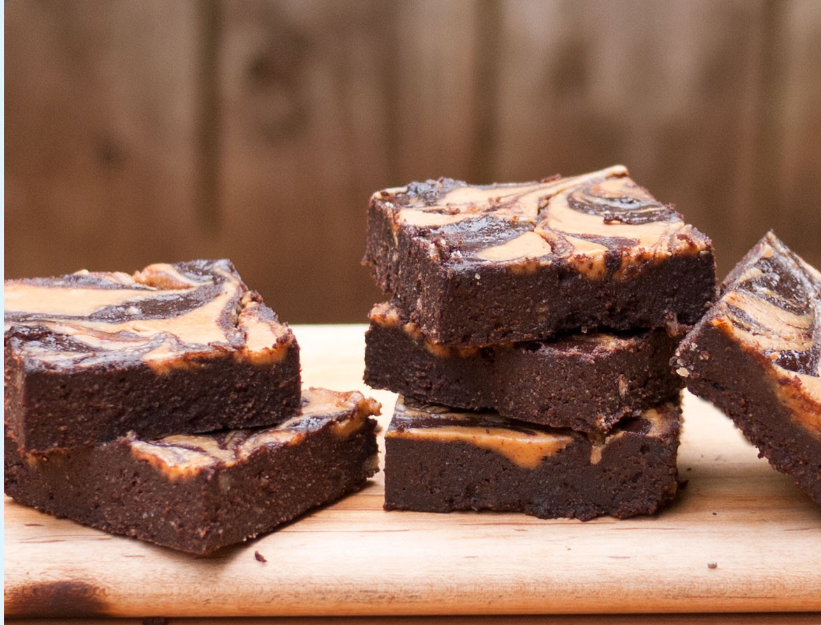Low Carb Dairy Free Desserts  Peanut Butter Swirl Brownies Low Carb Gluten Free