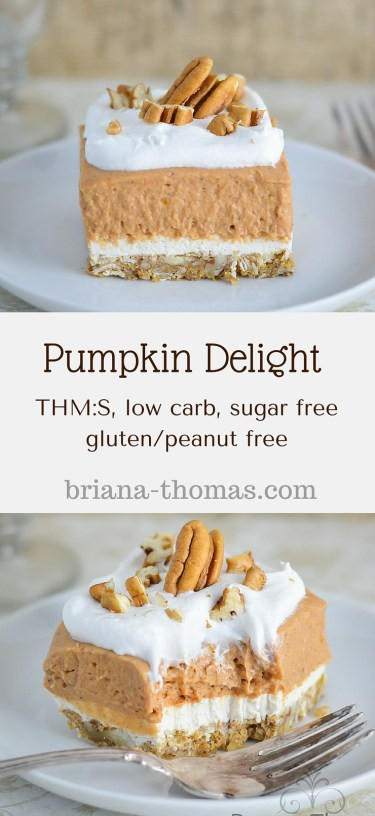 Low Carb Desserts You Can Buy  Pumpkin Delight Briana Thomas