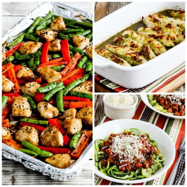 Low Carb Dinner  My Favorite Quick and Easy Low Carb Dinners Kalyn s Kitchen
