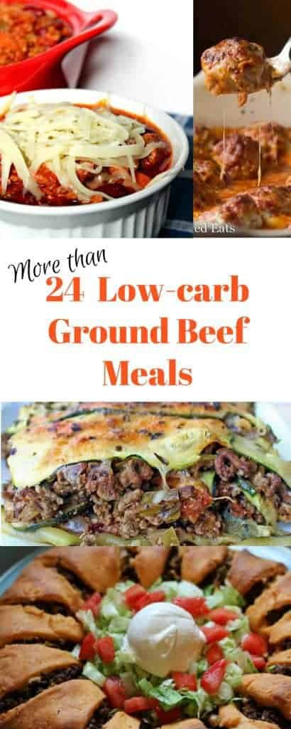 Low Carb Dinner With Ground Beef  Low carb Ground Beef Recipes Satisfyingly Delicious Meals