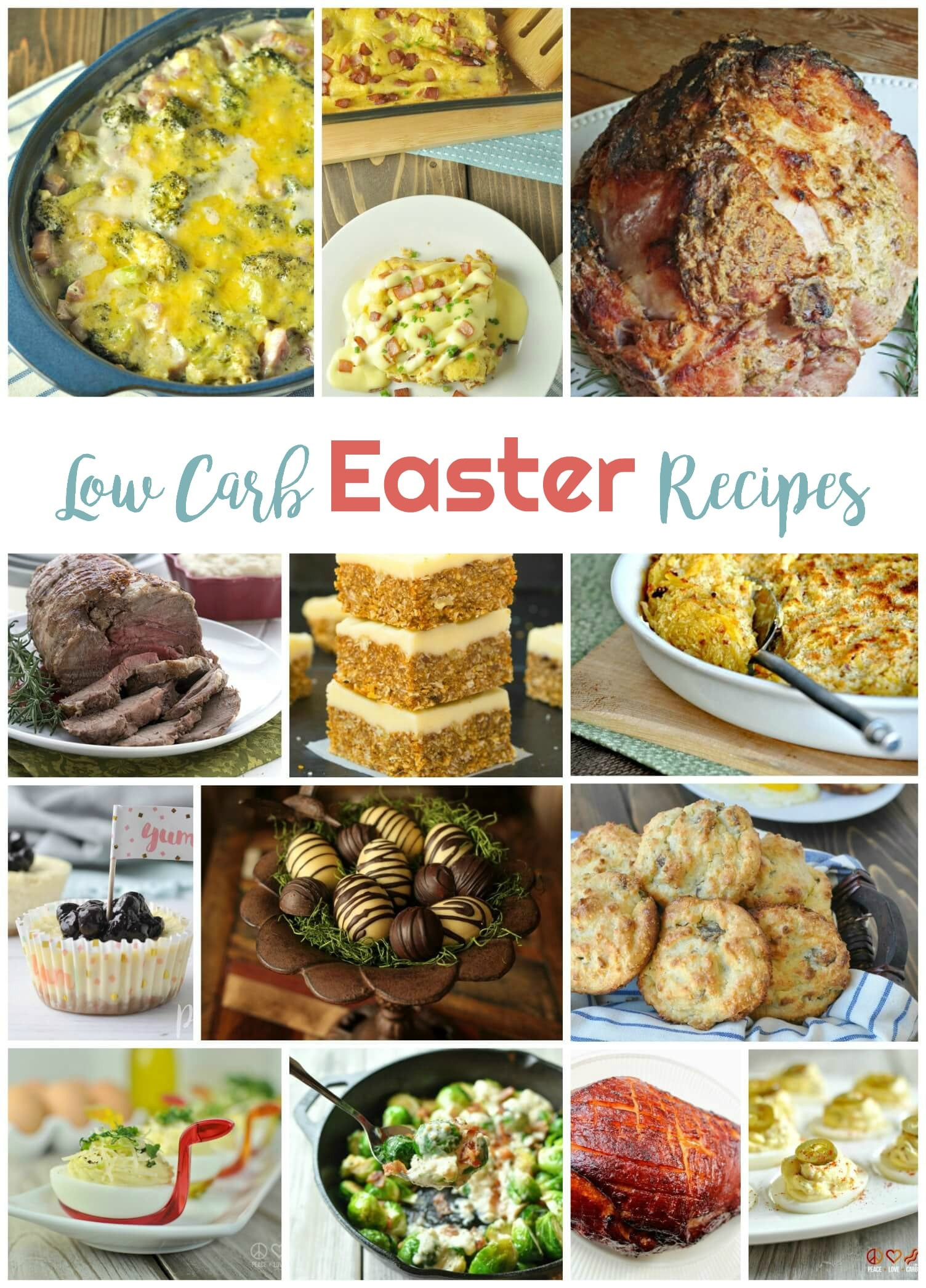 Low Carb Easter Desserts  Low Carb Easter Recipes