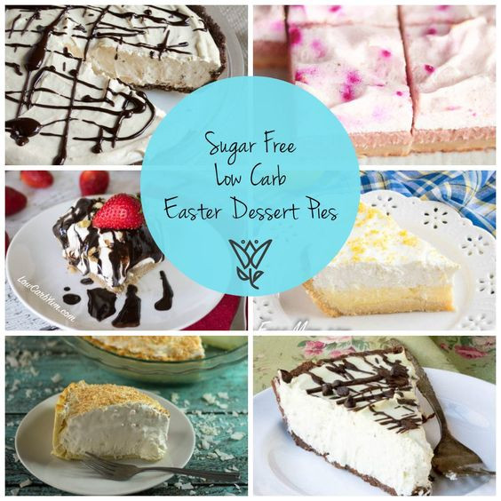 Low Carb Easter Desserts  26 Sugar Free Low Carb Easter Dessert Pies