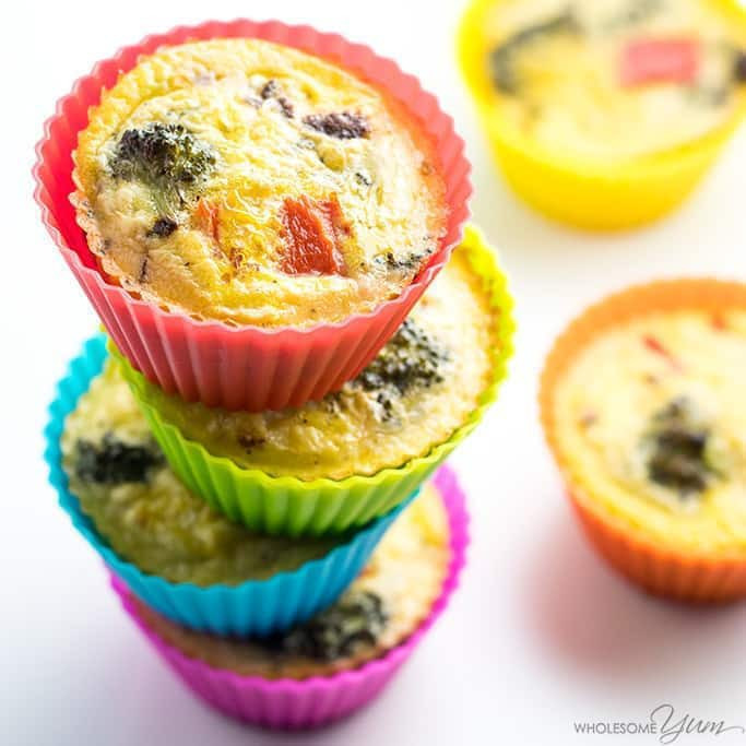 Low Carb Egg Muffin Recipes  Healthy Paleo Breakfast Egg Muffins Recipe Low Carb