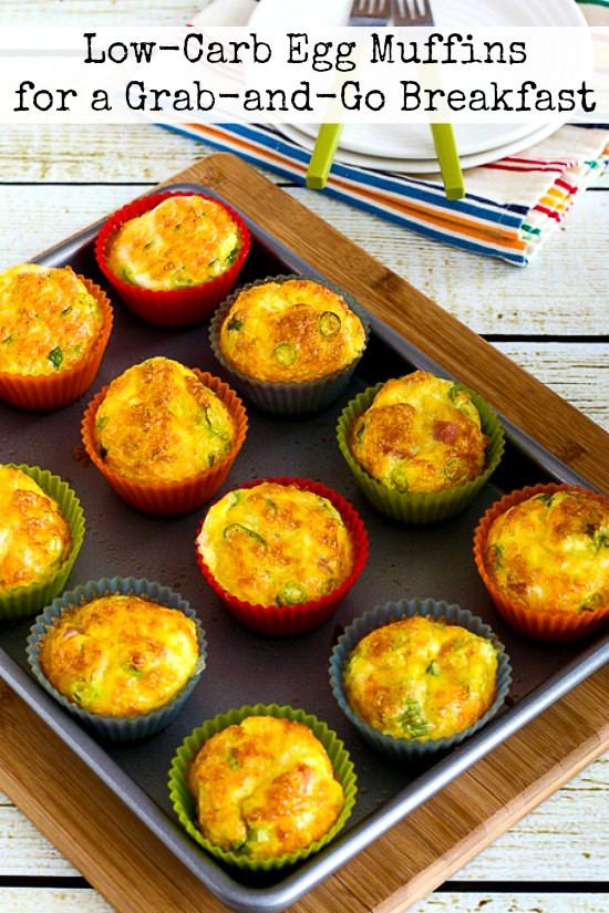 Low Carb Egg Muffin Recipes  Low Carb Egg Muffins for a Grab and Go Breakfast Kalyn s