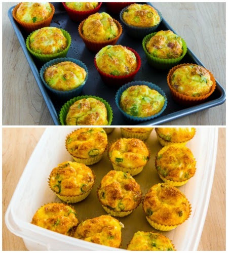 Low Carb Egg Muffin Recipes  Kalyn s Kitchen Low Carb Egg Muffins for a Grab and Go