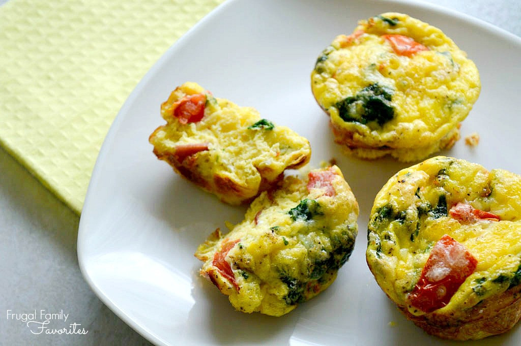 Low Carb Egg Muffin Recipes  Make ahead breakfast BLT Egg Muffins Low carb and yummy