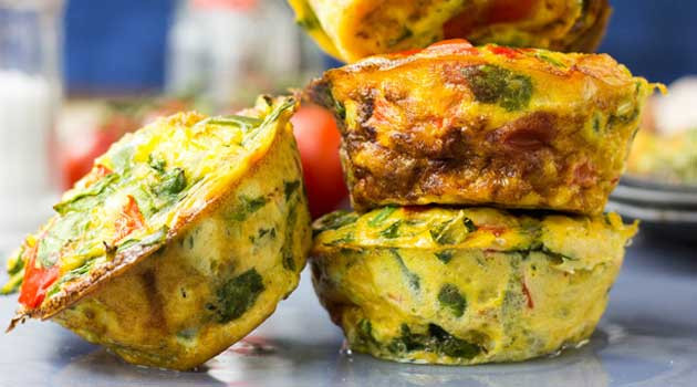 Low Carb Egg Muffin Recipes  Low Carb Breakfast Egg Muffins