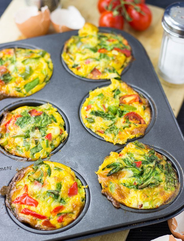 Low Carb Egg Muffin Recipes  Breakfast Egg Muffins