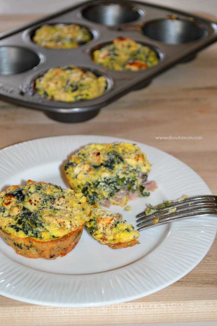 Low Carb Egg Muffin Recipes  Greek Inspired Low Carb Egg Muffins About A Mom