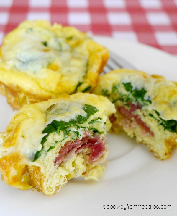 Low Carb Egg Muffin Recipes  Low Carb Layered Breakfast Muffins