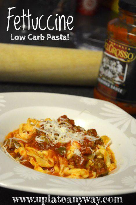 Low Carb Egg Noodles  75 best images about Low carb Pasta on Pinterest