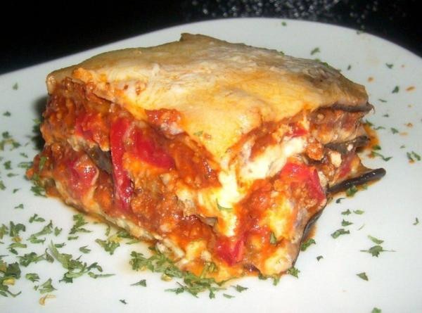 Low Carb Eggplant Lasagna  Logan s Low Carb Eggplant Lasagna Recipe