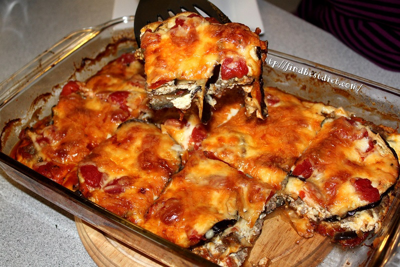 Low Carb Eggplant Lasagna  Best Eggplant Lasagna Recipe Low Carb and Gluten Free