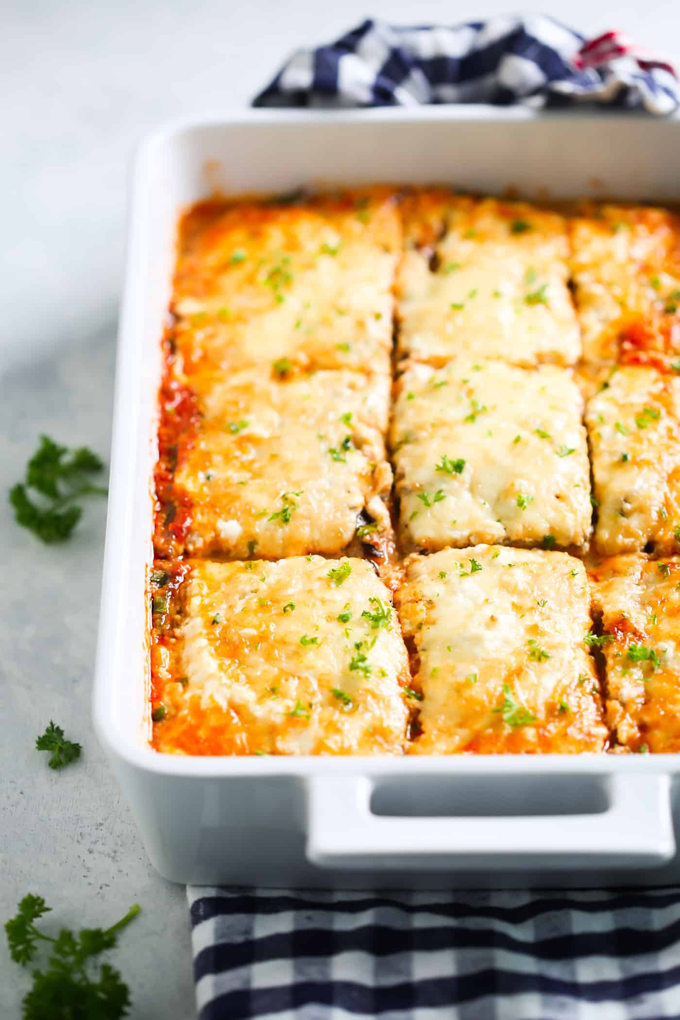 Low Carb Eggplant Lasagna  eggplant lasagna low carb ve arian