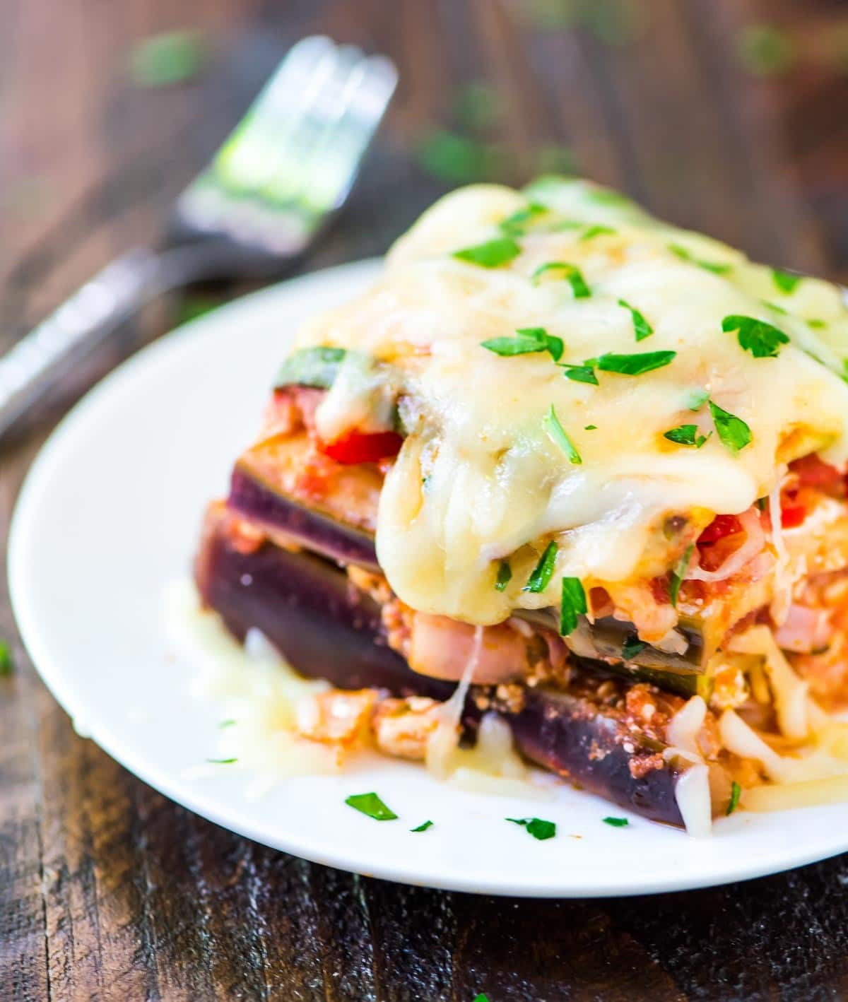 Low Carb Eggplant Lasagna  Crock Pot Low Carb Lasagna
