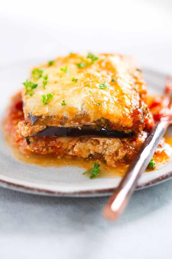 Low Carb Eggplant Lasagna  Delicious Low carb Eggplant Lasagna Recipe Plus Video