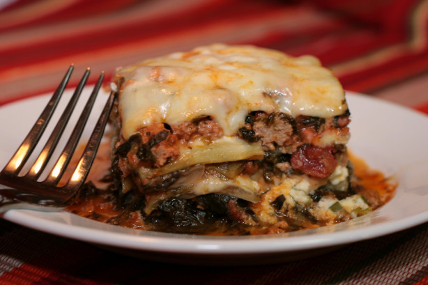 Low Carb Eggplant Lasagna  Low Carb South Beach Eggplant Lasagna Recipe Food