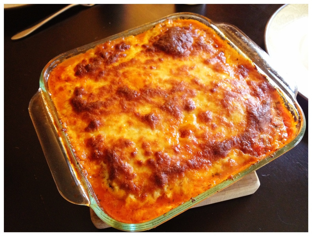 Low Carb Eggplant Lasagna  Low Carb Eggplant Lasagna