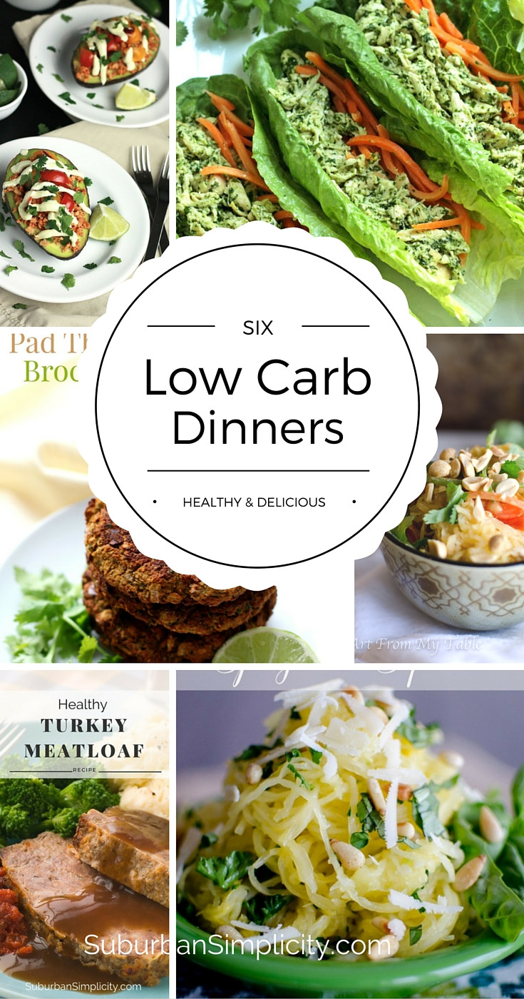 Low Carb Entree Recipes  Low Carb Dinners Healthy & Delicious Suburban Simplicity