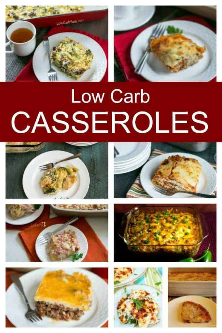 Low Carb Family Recipes  15 The Best Low Carb Casseroles