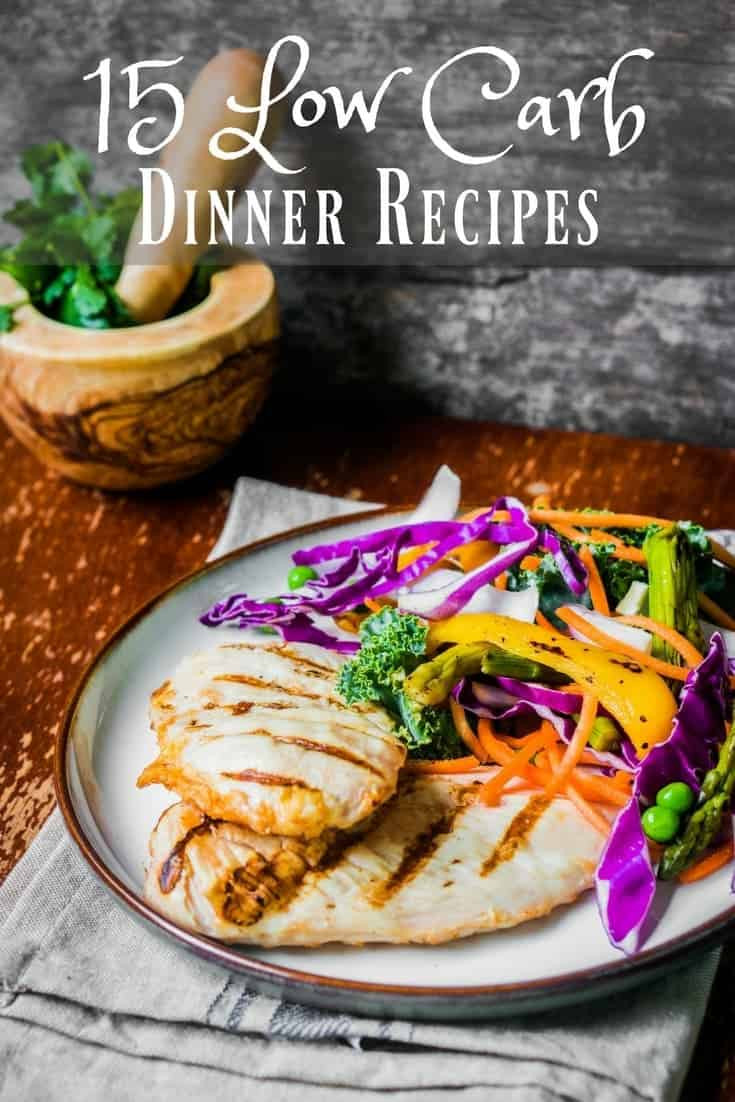 Low Carb Family Recipes  Recipes for 15 Low Carb Dinners