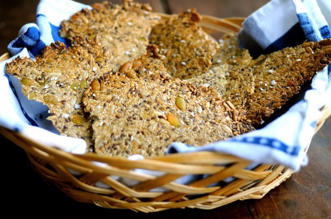 Low Carb Flax Seed Recipes  Low Carb Flax Seed Crackers Recipe free forexfile