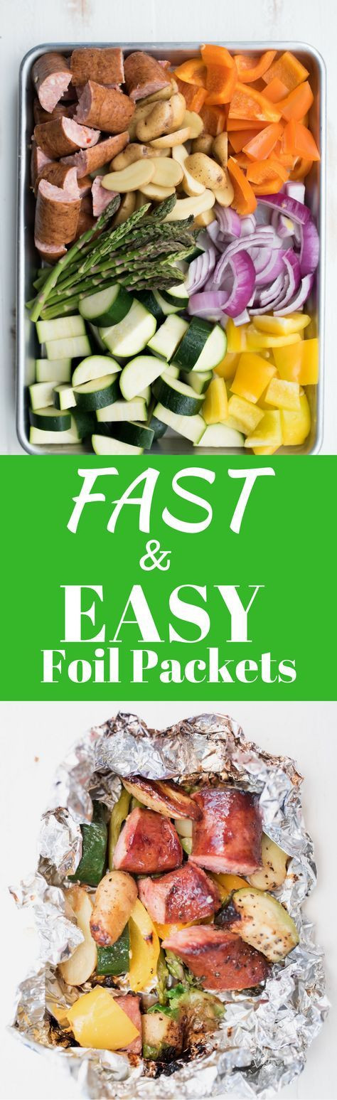 Low Carb Foil Packet Dinners  Fast and Easy Foil Packet Dinner